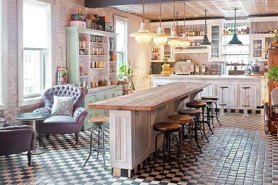 cocina diseño estilo vintage