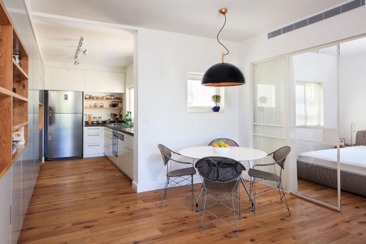 Cocinas peque as modernas los 25 dise os m s funcionales Disenos cocinas pequenas para apartamentos