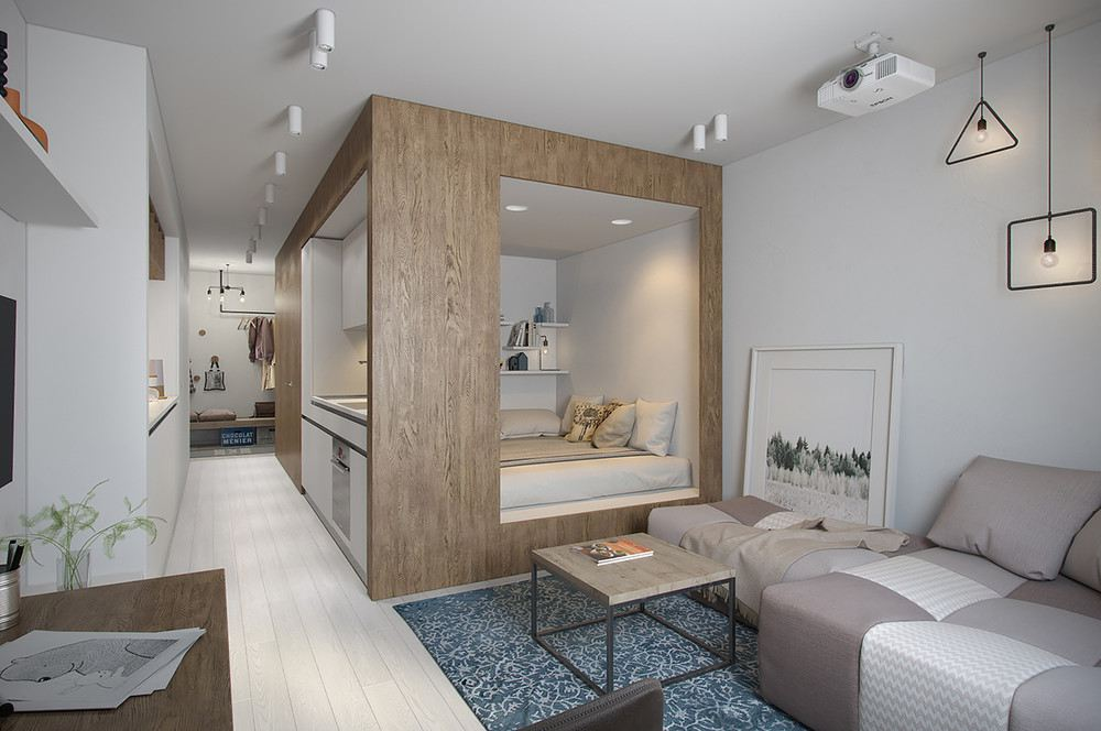 Decoracion de apartamentos peque os dise os de moda for Apartamentos de diseno pequenos