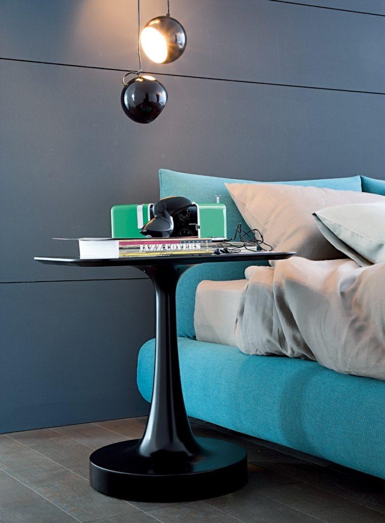 original diseño cama color azul