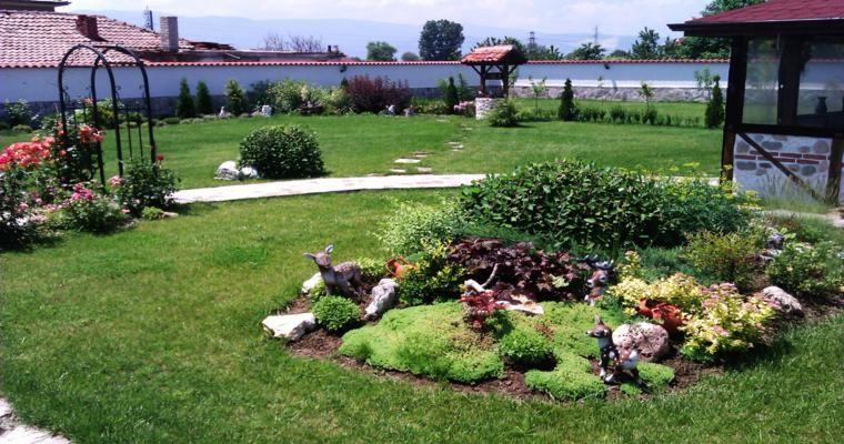 original oasis jardín rocas