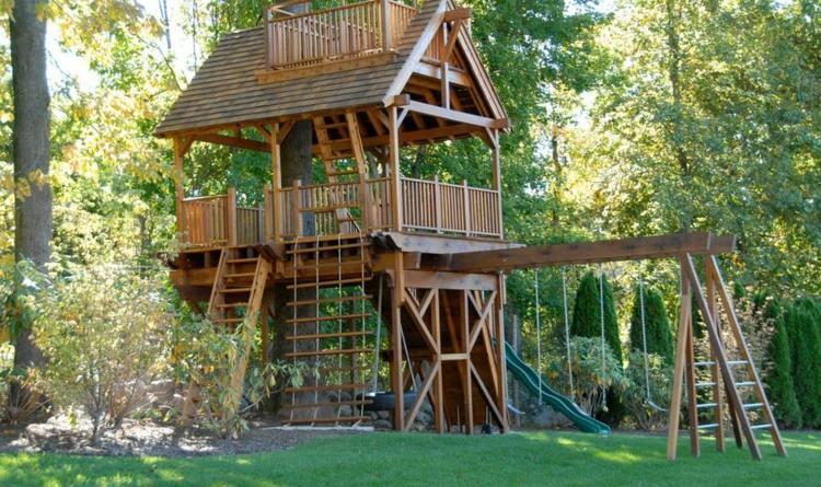 original diseño casa de arbol