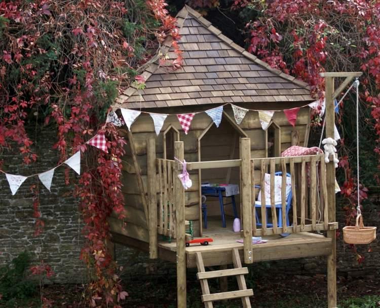 estupendo diseño casita árbol