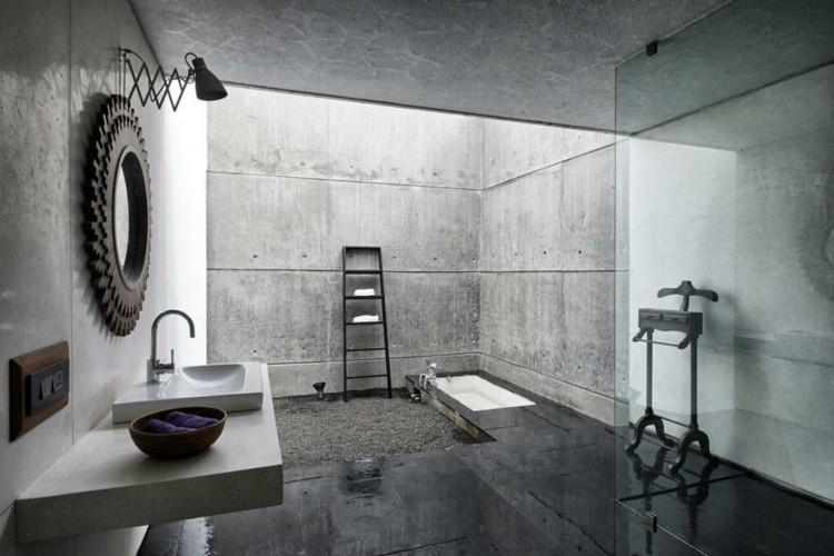 original diseño cuarto baño cemento