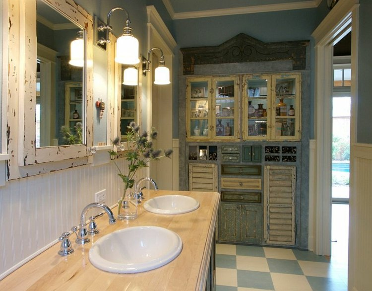 original diseño cuarto baño shabby chic