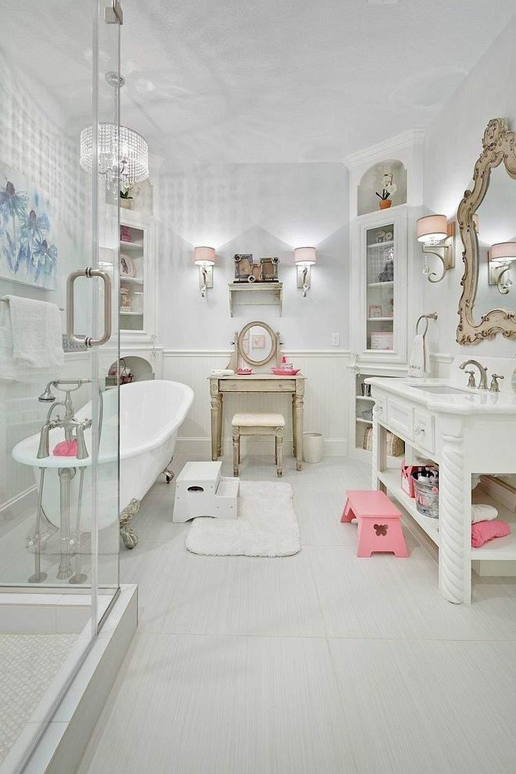 Baños Estilo Shabby Chic:Shabby chic salones para espacios acogedores y mágicos