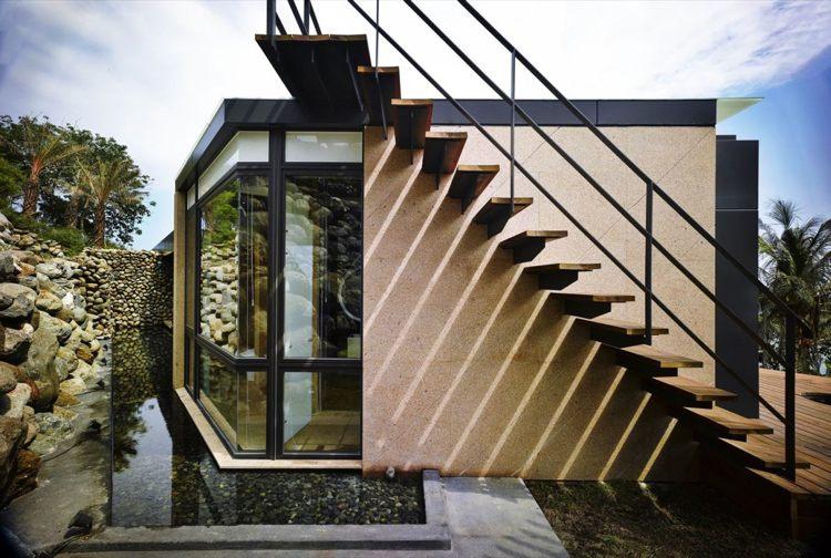 original diseño de escaleras exteriores