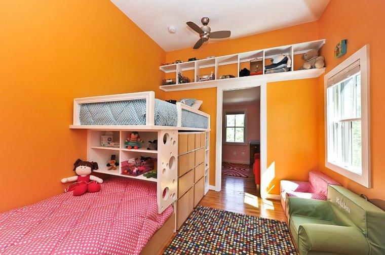 original diseño estantería pared infantil