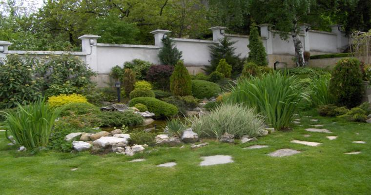 original jardín moderno diseño