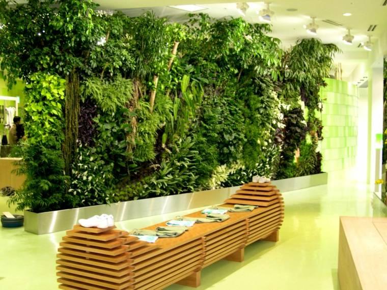 Jardines verticales ideas interesantes para el interior for Diseno jardin interior