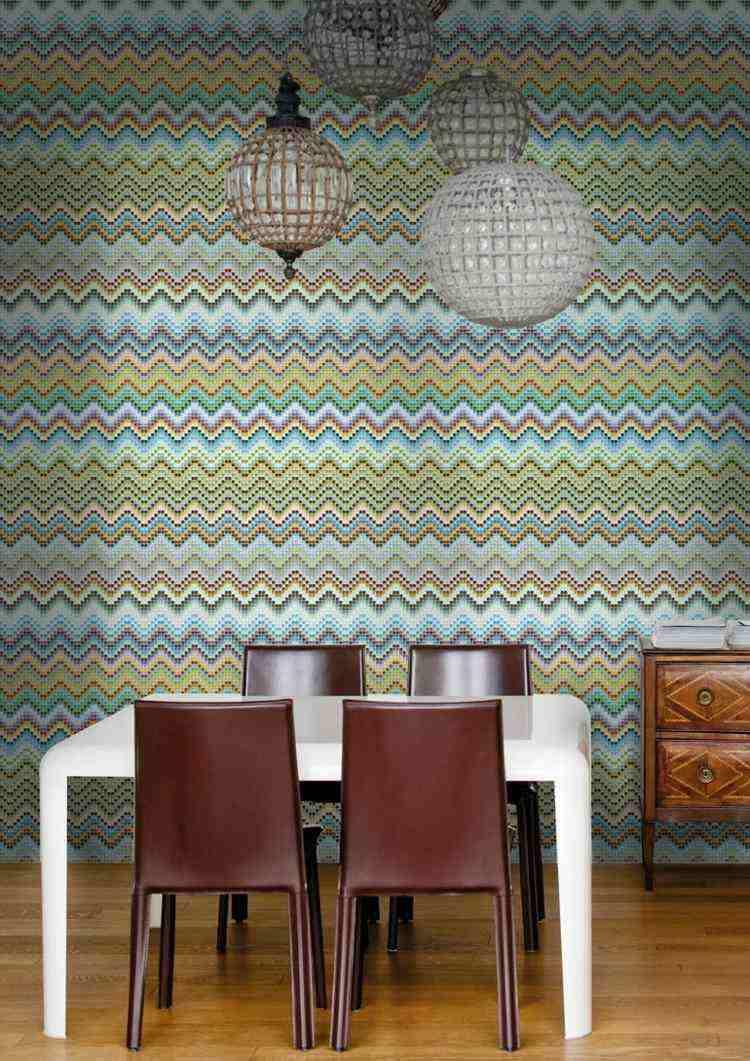 original diseño mosaico colores
