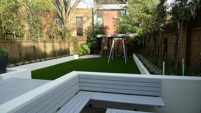 original diseño patio terraza moderna