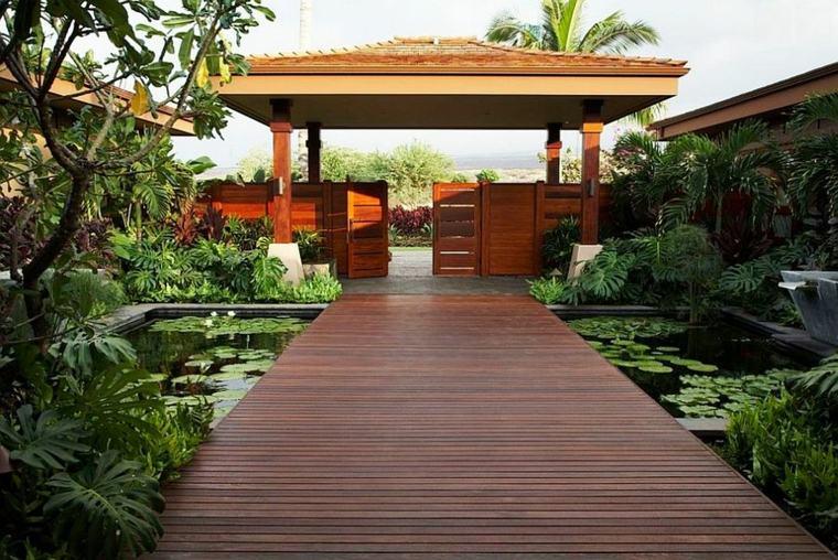 original diseño plataforma camino madera