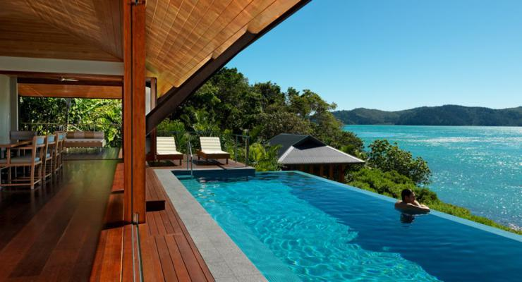 original tropical terrace views