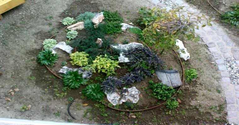 crear paisajes naturales jardín