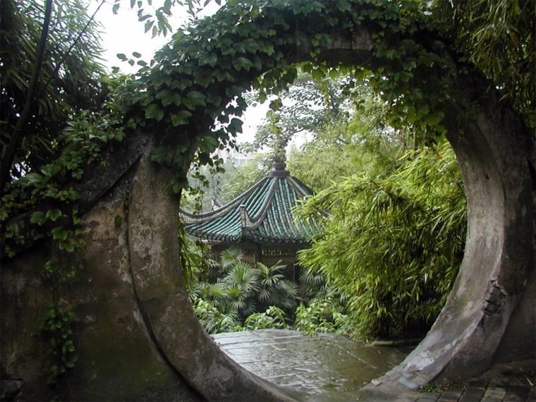 entrada jardín diseño orignetal