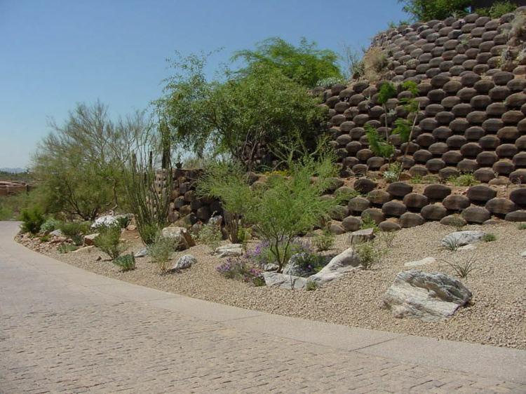 original diseño jardin muro verdura
