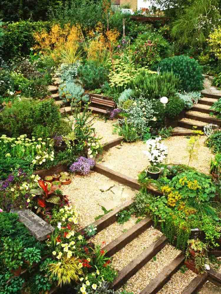 original jardin terrazas plantas