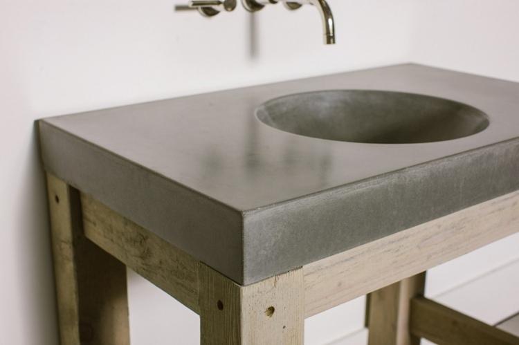 original diseño lavabo moderno rustico