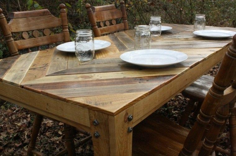 diseño mesa madera natural