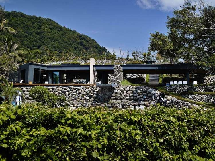 original diseño muro piedras naturales
