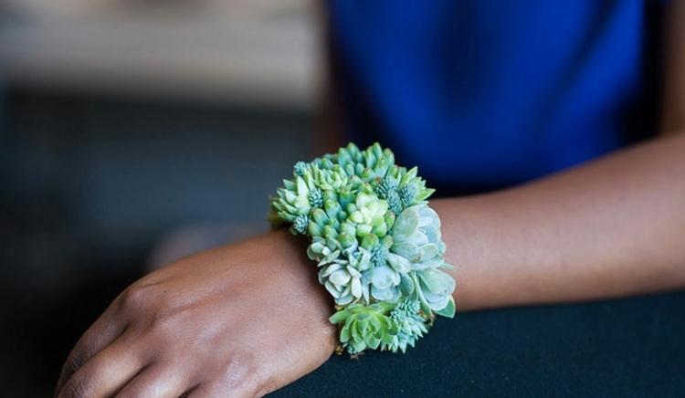 original pulsera brazalete plantas