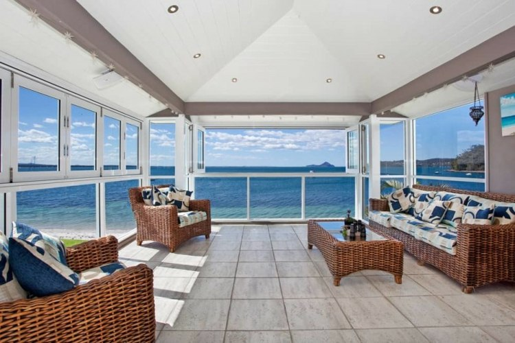 original diseño salon vistas mar