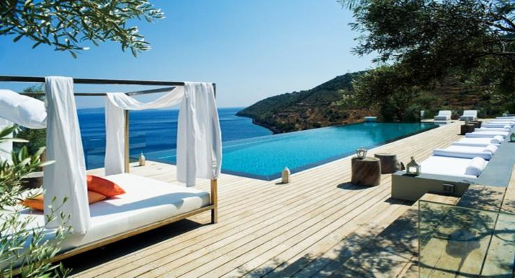 originales terrazas modernas piscina