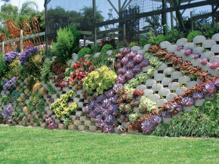 original diseño valla jardín hormigón