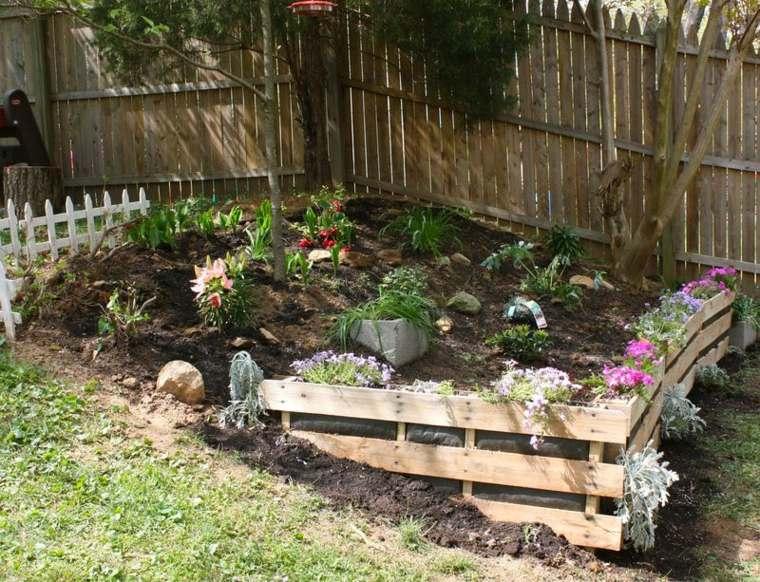 original valla palet rocalla jardin