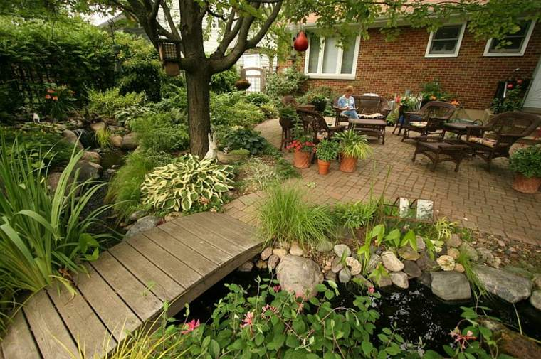 original diseño jardín terraza