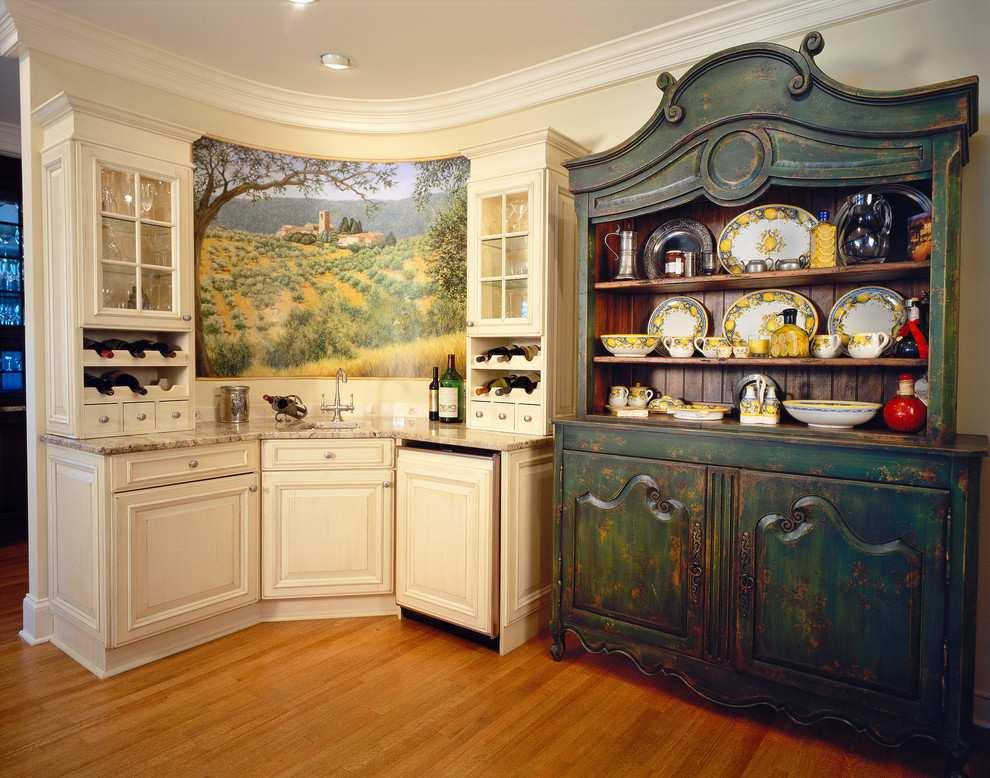 original mueble color oscuro cocina