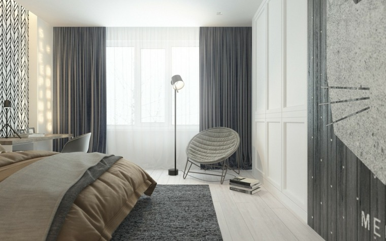 originalees cortinas color gris