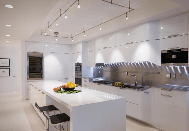 originales luces led cocina
