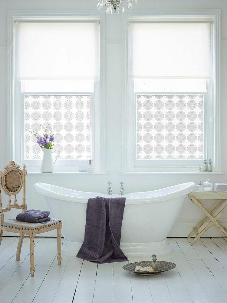 originales baños estilo shabby