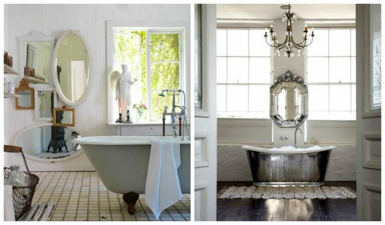 originales diseños baños vintage