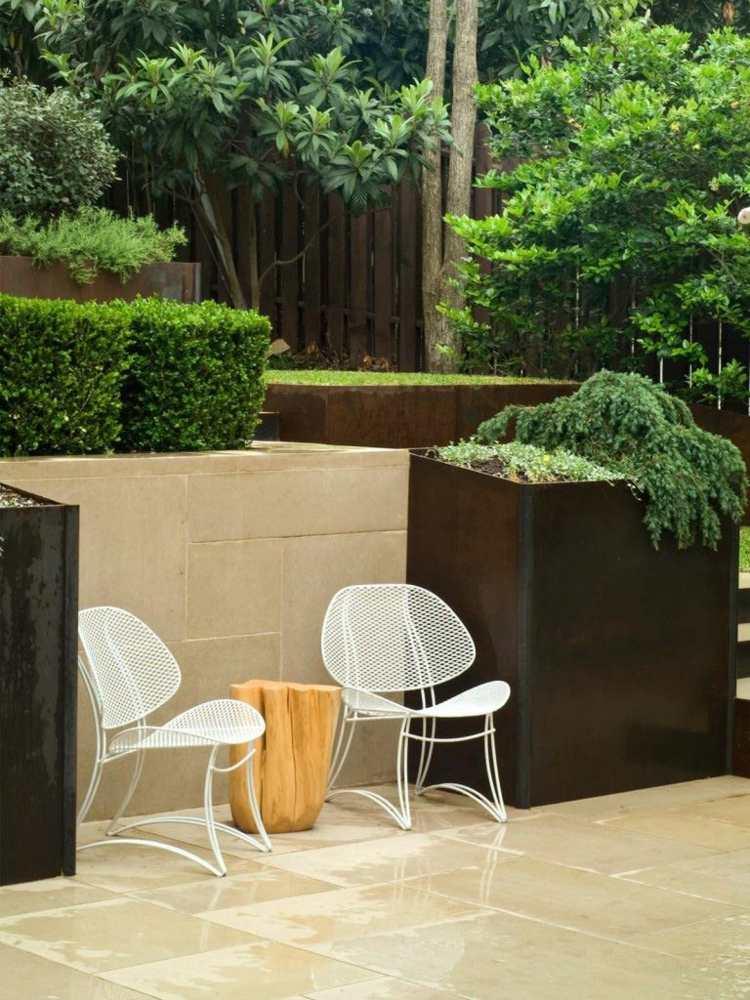 originales diseños jardines modernos estilo