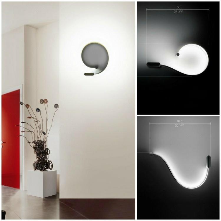 originales formas lamparas led modernas