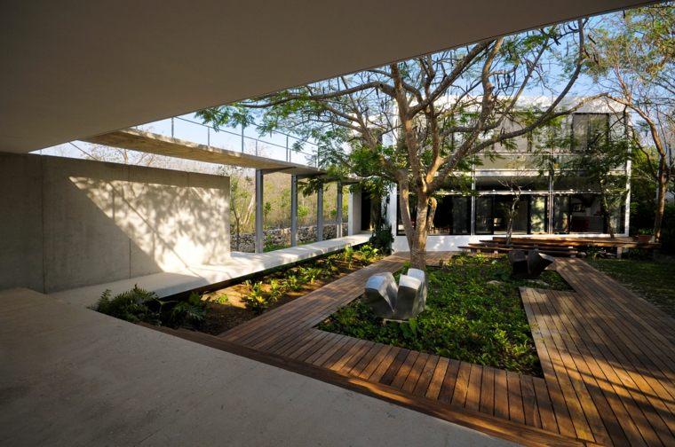 originales patios estilo moderno
