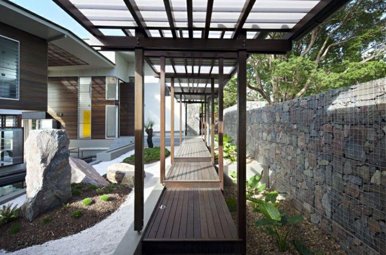 originales diseños jardines estilo orintal