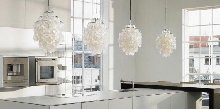 Lamparas de cocina modernas para una iluminación práctica