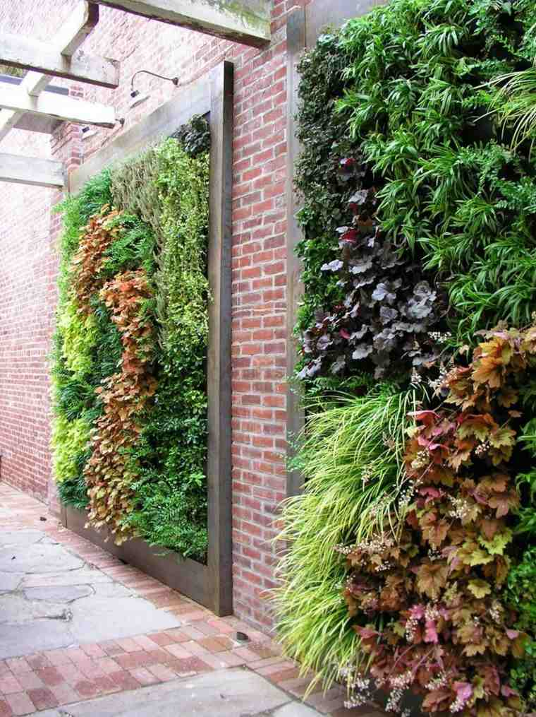 originales paneles jardin vertical