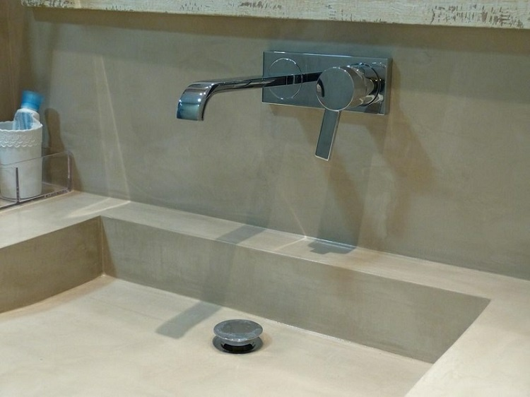 original diseño lavabo cemento