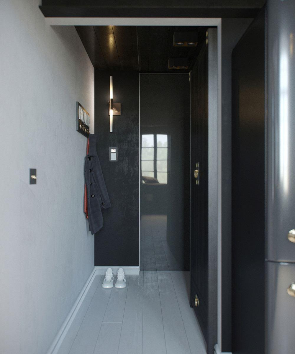 entrada recibidor diseño moderno