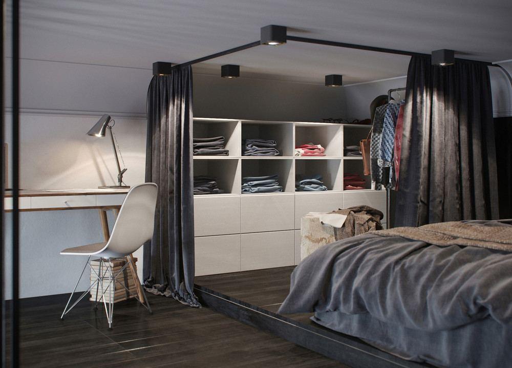 oscuro apartamento habitación