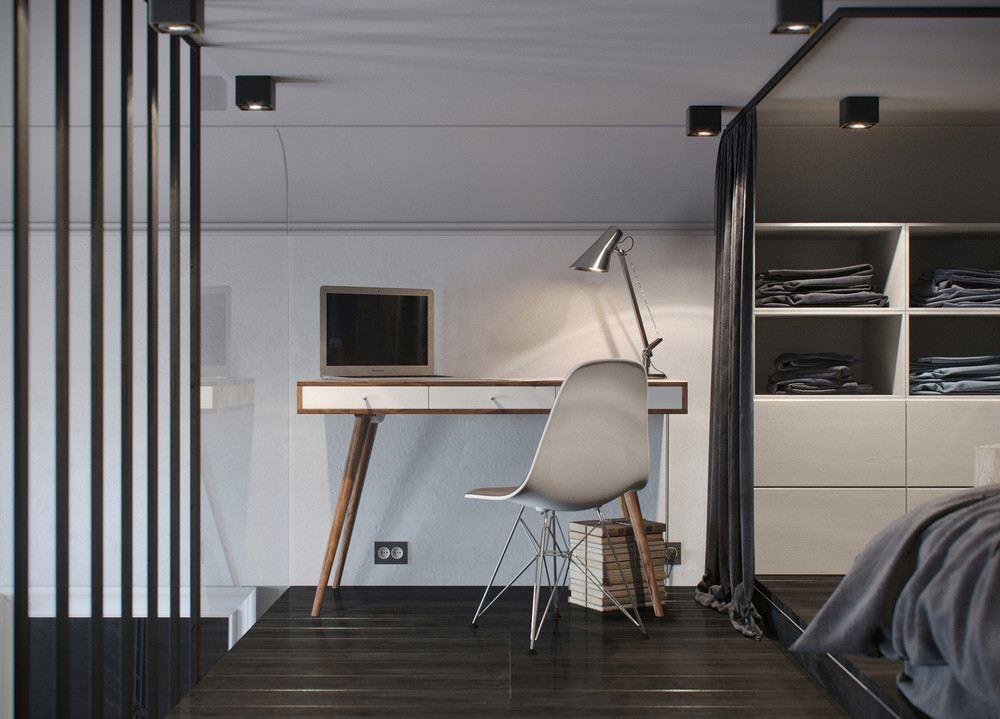 muebles sencillos estilo escandinavo