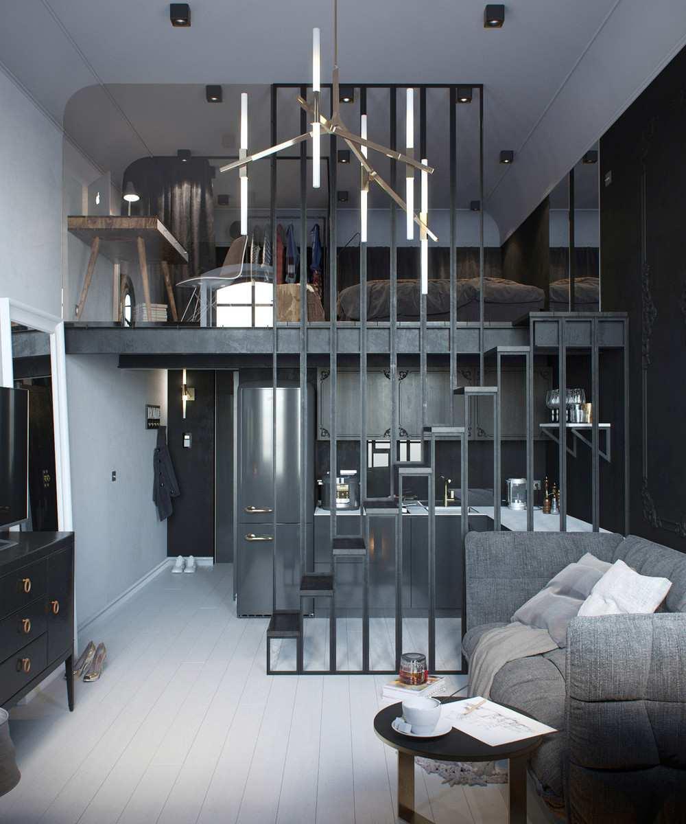 original diseño salón pequeño