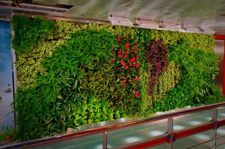 Jardines Verticales Ideas Interesantes Para El Interior