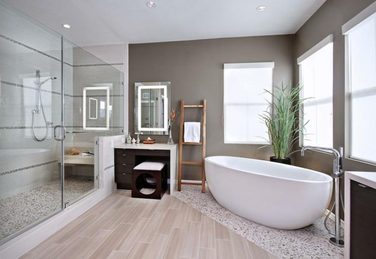 Baños Modernos Beige:Romanticismo y dulzura en el baño – 50 diseños Shabby Chic