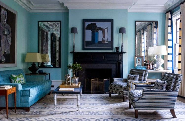 paredes estilos salas muebles sofa